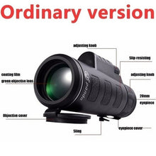 Load image into Gallery viewer, Extra Long 9900M/350000M Compass Flashlight+infrared Distance Night Vision High - Angle Monocular Telescope Laser Outdoor Hiking Travel Portable Telescope Fashion Accessories Tool