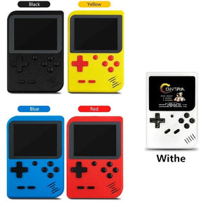 Portable Handheld Game Players Retro Game Console Built-In 400 Games Support 2 Player 8-Bit 3.0 Inch for Child Nostalgic Can Connect To TV