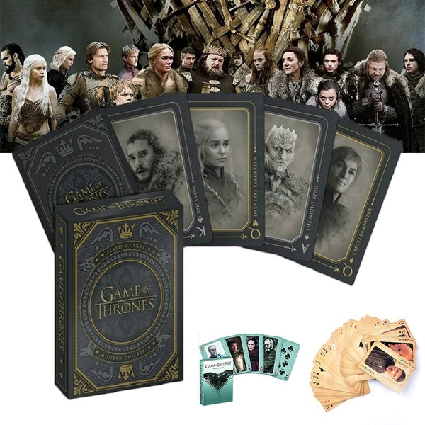 Game of Thrones Poker Table Games Texas Holdem Game Cards