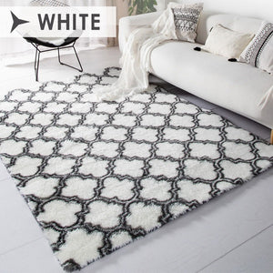 Soft and Cozy High Pile Washable Carpet Modern Fluffy Rugs Luxury Shag Carpets for Floor Home Bed and Living Room
