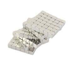 Load image into Gallery viewer, 5pcs/30pcs/50pcs/70pcs Set 3x3x3mm 4x4x4mm 5x5x5mm 10x10x10mm Neodymium Magnet Cube Square Cubes Magnetic Holders Office Desk Stress Relief N33  N35 Permanent Rare Earth Magnet