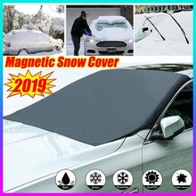 Load image into Gallery viewer, 2019 New Magnetic Edges Car Snow Cover Frost Car Windshield Snow Cover Frost Guard Protector Car Sun Shade Cover Waterproof Windshield Protector For Car/Truck/SUV
