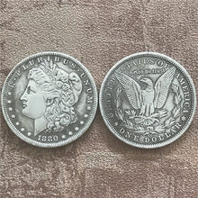 Load image into Gallery viewer, 10/28 Pcs US Coins 1878-1921 Full Set Morgan Dollar Antique Ancient Copy Silver Coins Liberty Coins Collection