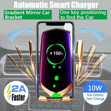 Load image into Gallery viewer, 2019 New 10W Fast Car Wireless Charger Qi Phone Charging 360 Degree Rotation Air Vent Car Mount Holder Wireless Charger for IPhone XS XR X 8Plus Samsung S10 S9 S8 Note8
