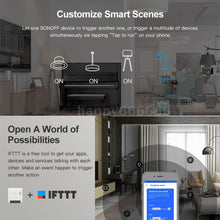 Load image into Gallery viewer, SONOFF MINI DIY Two Way Smart Switch Small Body Remote Control WiFi Switch Support An External Switch Work With Google Home/Nest IFTTT & Alexa