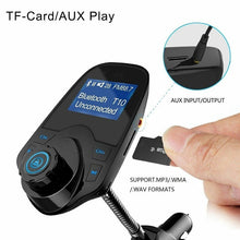 Load image into Gallery viewer, Car Charger USB Car Cigarette Lighter Adapter Chargers Wireless In-Car Bluetooth FM Transmitter MP3 Radio Adapter Car Kit USB Charger