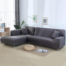 Load image into Gallery viewer, Universal Sofa Cover L Shape Elastic Protector Seater Couch Sofa Washable Cover Cover Decor 2Pcs