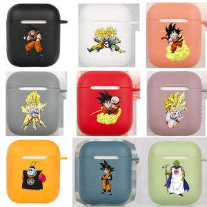 18 Styles Dragon Ball Z Portable TPU Protective Apple AirPods Case Cover