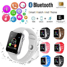 Load image into Gallery viewer, NEW Waterproof A1 Smart Watch Bluetooth GSM Sim Phone Pedometer Sedentary Remind Sleep Monitor Remote Camera for Android/iOS