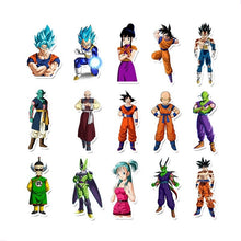 Load image into Gallery viewer, 50Pcs/100Pcs Anime Dragon Ball Stickers Super Saiyan Goku Stickers Decal For Snowboard Luggage Car Fridge Laptop Sticker