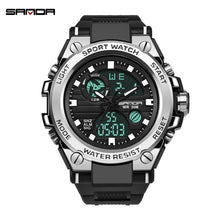 Load image into Gallery viewer, Men's Military S Shock Watch Outdoor Sports Electronic Watch Tactical Army Wristwatch LED Stopwatch Waterproof Digital Analog Watches Relogio Masculino