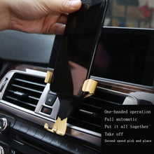 Load image into Gallery viewer, Universal Air Vent in Car Mobile Phone Holder Stand For iPhone huawei Smartphone No Magnetic Auto Support