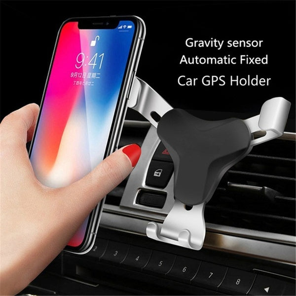 Universal Air Vent in Car Mobile Phone Holder Stand For iPhone huawei Smartphone No Magnetic Auto Support