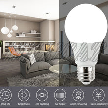 Load image into Gallery viewer, 10Pc/lot E27/B22/E14 LED Bulbs AC 100V- 240V Led Lamp Home Constant Current Voltage Interior Lamp SMD2835 Cool White/Warm White