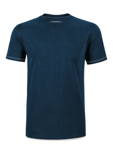 "PAGANI ""HUAYRA ROADSTER"" T-SHIRT POCKET MAN BLUE"