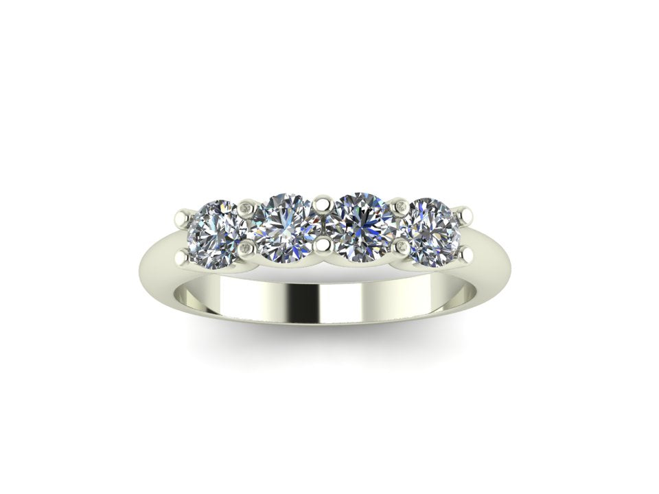 4 Stone Eternity ring