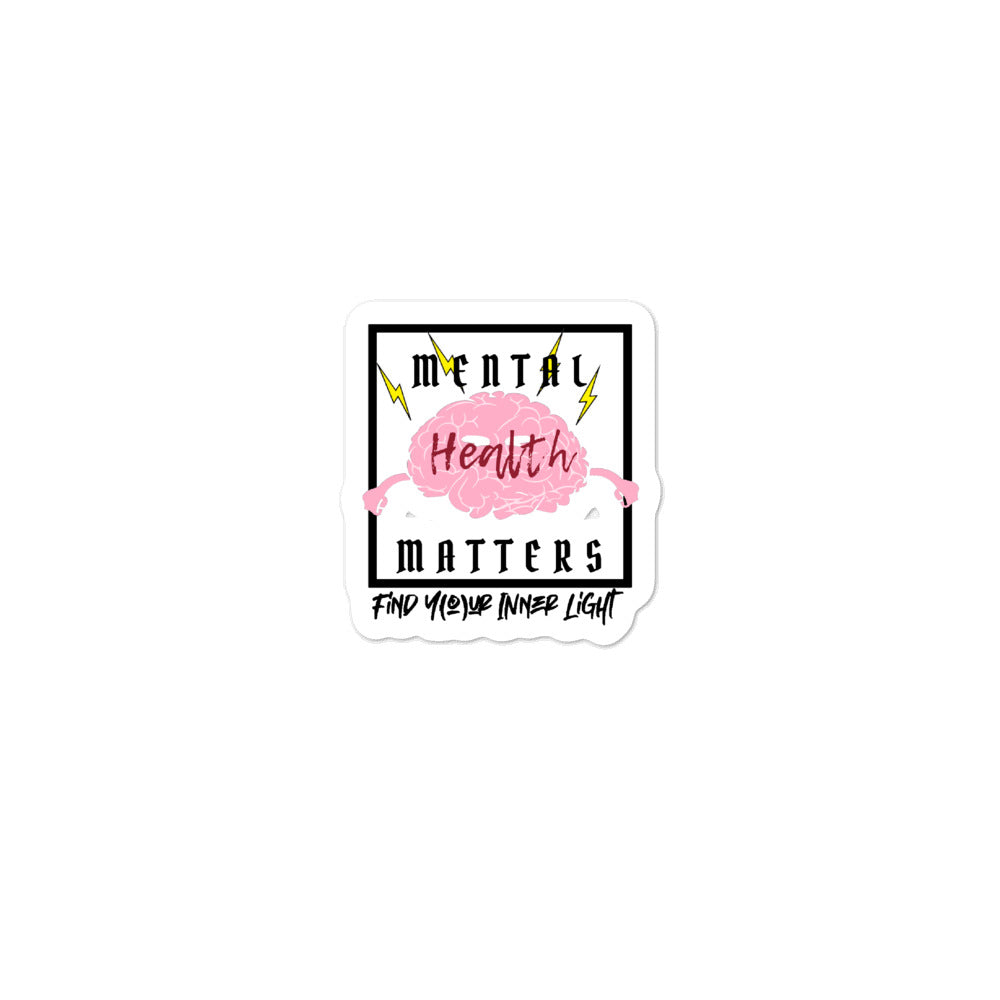 Mental Health Matters Bubble-free stickers