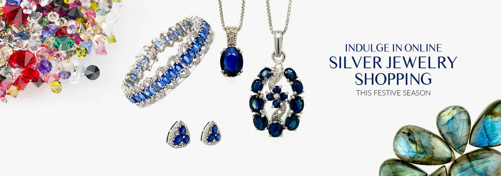 Indulge in Online Silver Jewelry Shopping This Festive Season