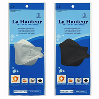 LaHauteur KF94 Black and White(White 50pcs, Black 50pcs)