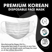 [Happylife] Goodday Disposable Mask(10pcs/bag)