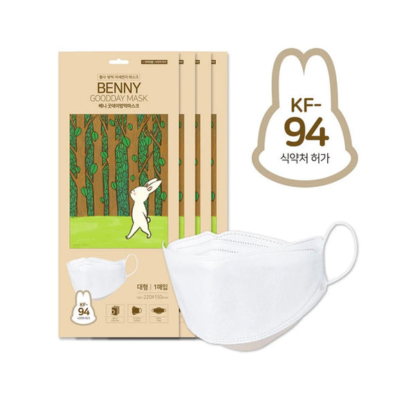 [Happy Life] Benny KF94 Mask-Adult(10PCS)