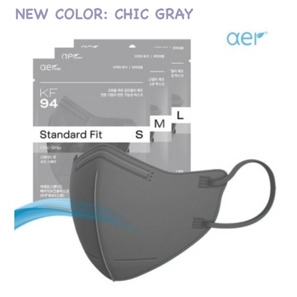 [AER]Standar Fit KF94 Gray(Small)
