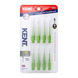 Kent Interdental Brush Cleaners Pack of 8 - Super Soft Toothbrush for great dental hygiene