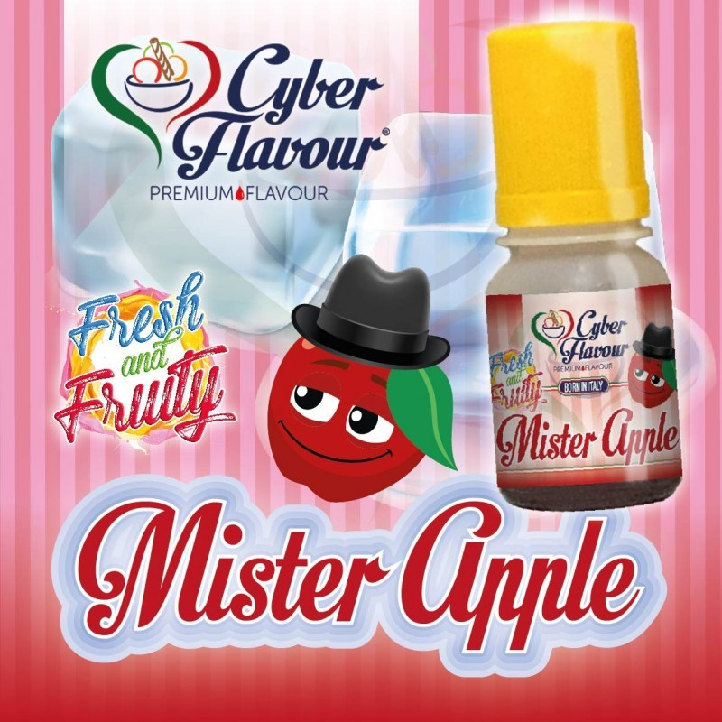 Cyber Flavour Aroma Mr. Apple - Linea Fresh and Fruity - 10ml