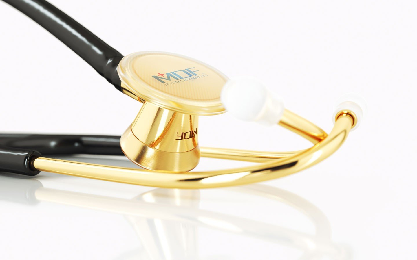 Cardiology stethoscope Premium auscultation High quality cardiology stethoscope Metal Finish