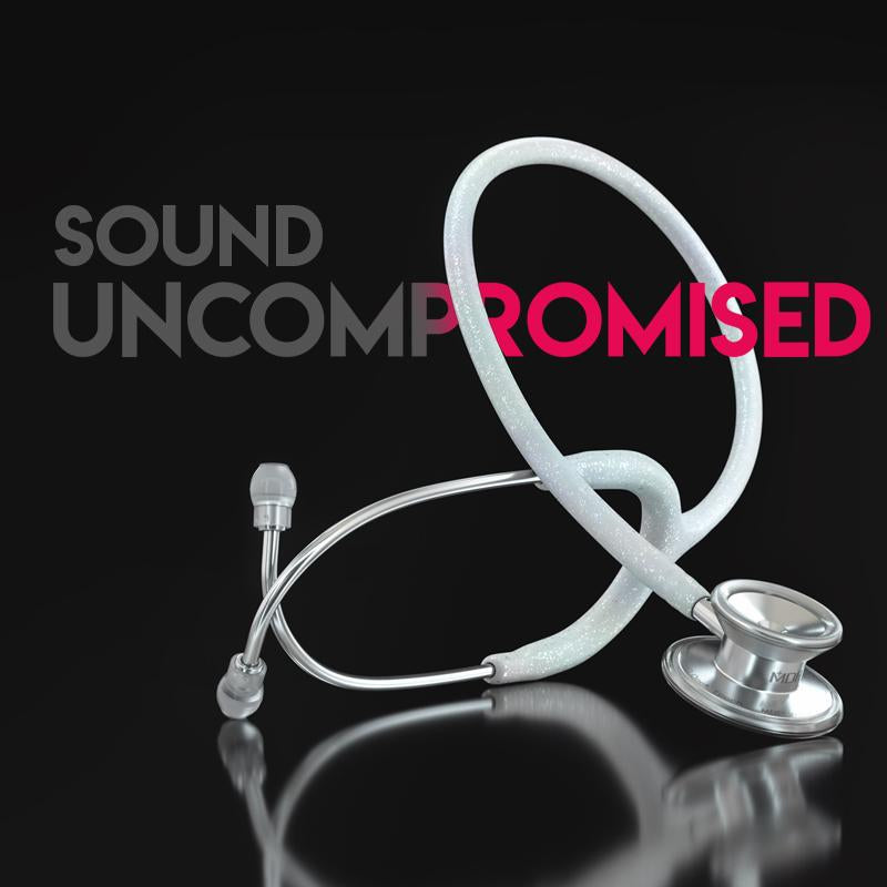 Lightweight Titanium MD One Traditional Style Dual Head Stethoscope Sound Uncompromised Mobile