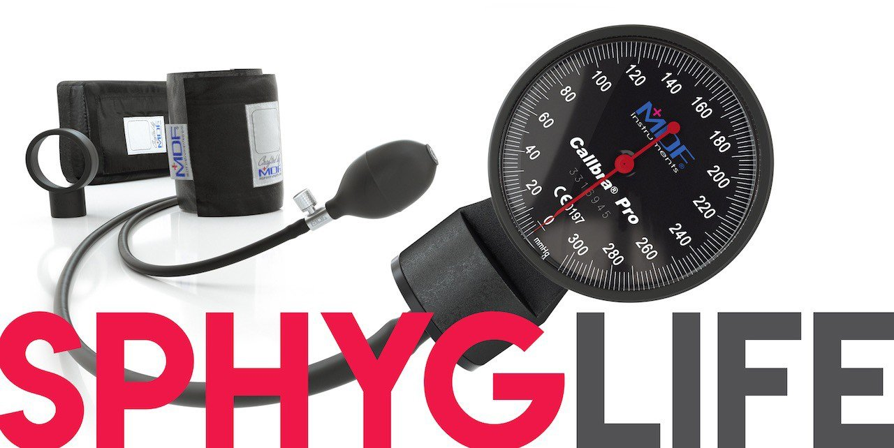 MDF 2020 Back to School Guide - Sphygmomanometer Blood Pressure Monitor