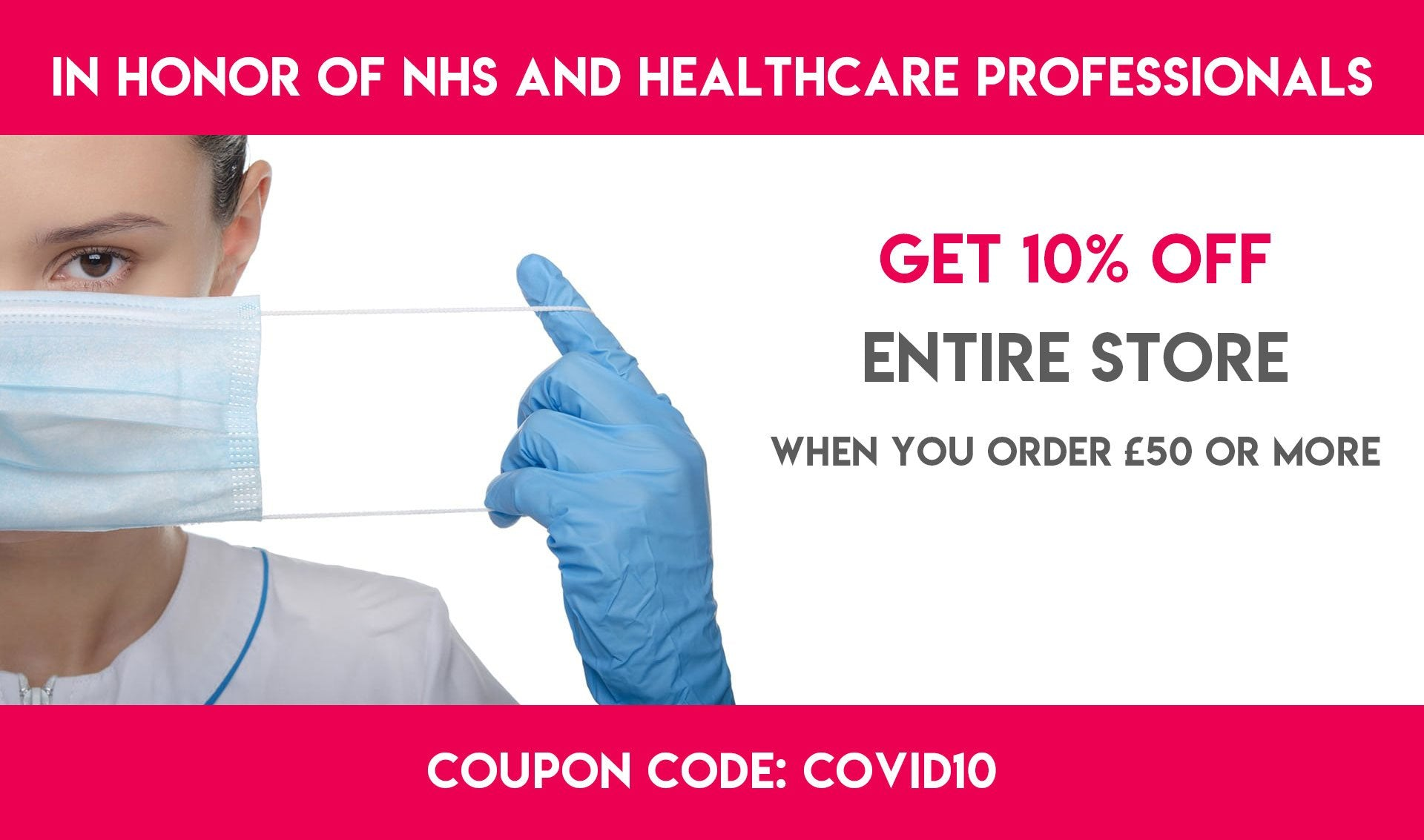 MDF Instruments - COVID-19 Discount Coupon