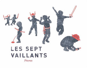 Les Equilibristes - Les Sept Vaillants white, 2017