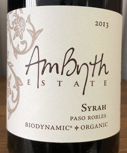 Ambyth Estate - Syrah, 2013
