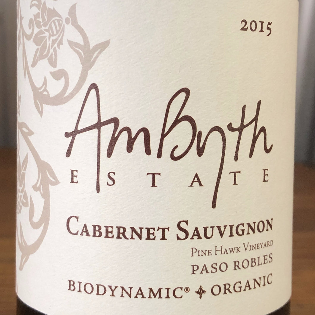 Ambyth Estate - Cabernet Sauvignon Pine Hawk Vineyard, 2015