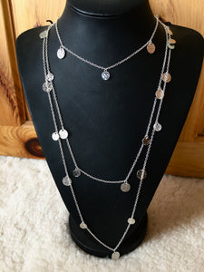 Silver Plated All In One Trio Necklace