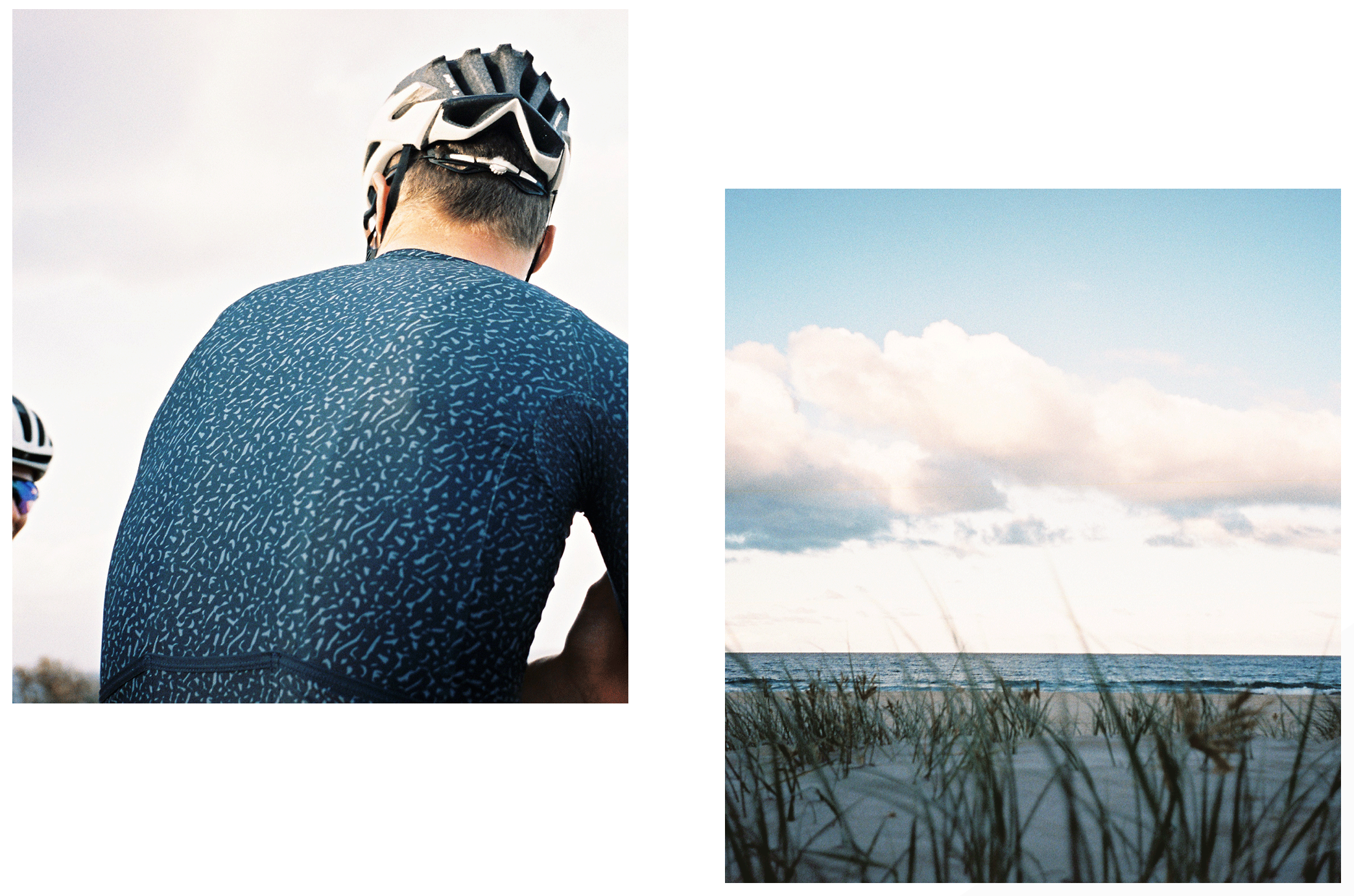 Black Sheep Cycling Essentials Team サイクルジャージ - Texture Midnight | CYCLISM
