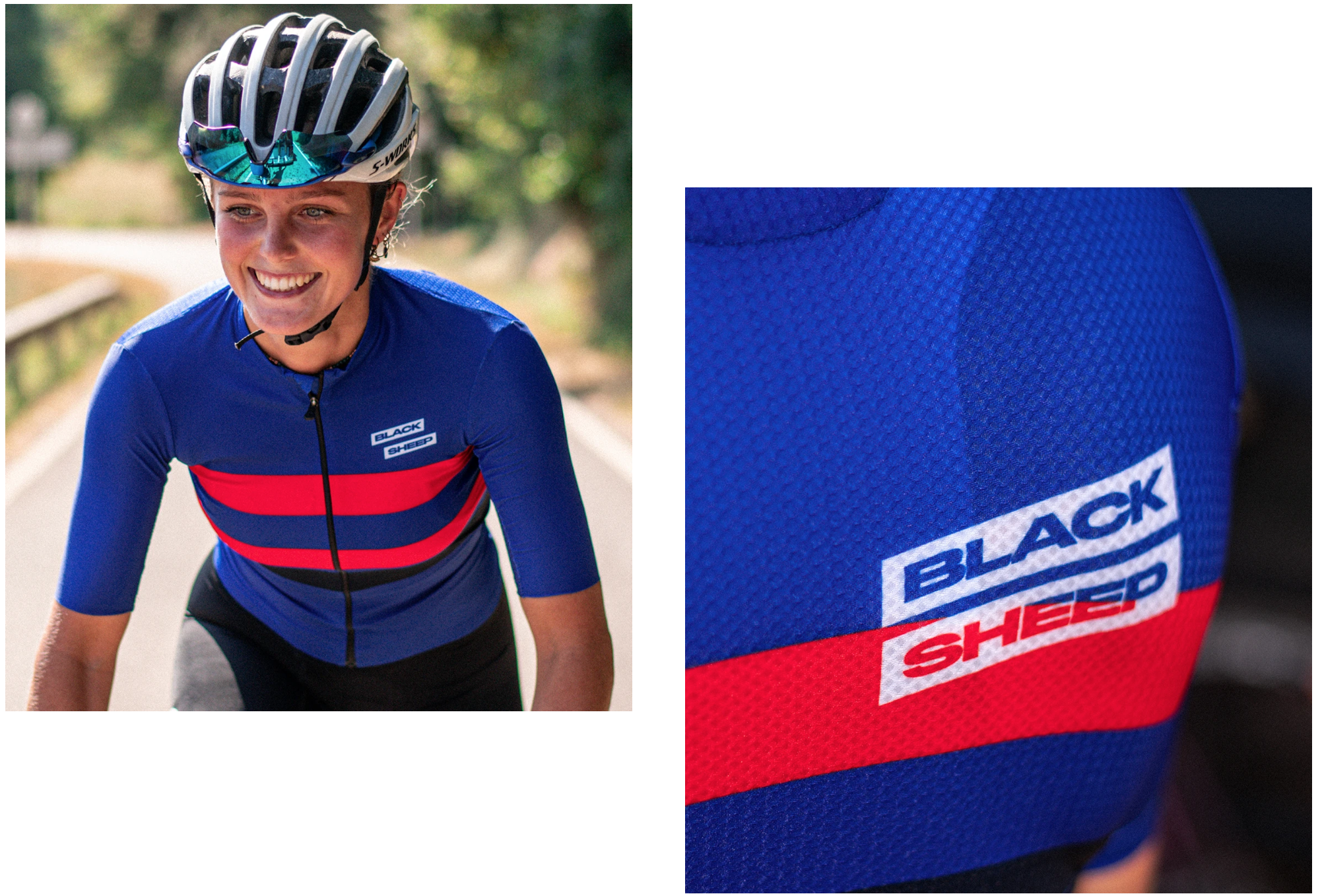 Black Sheep Classic WMN レディースサイクルジャージ - France | CYCLISM