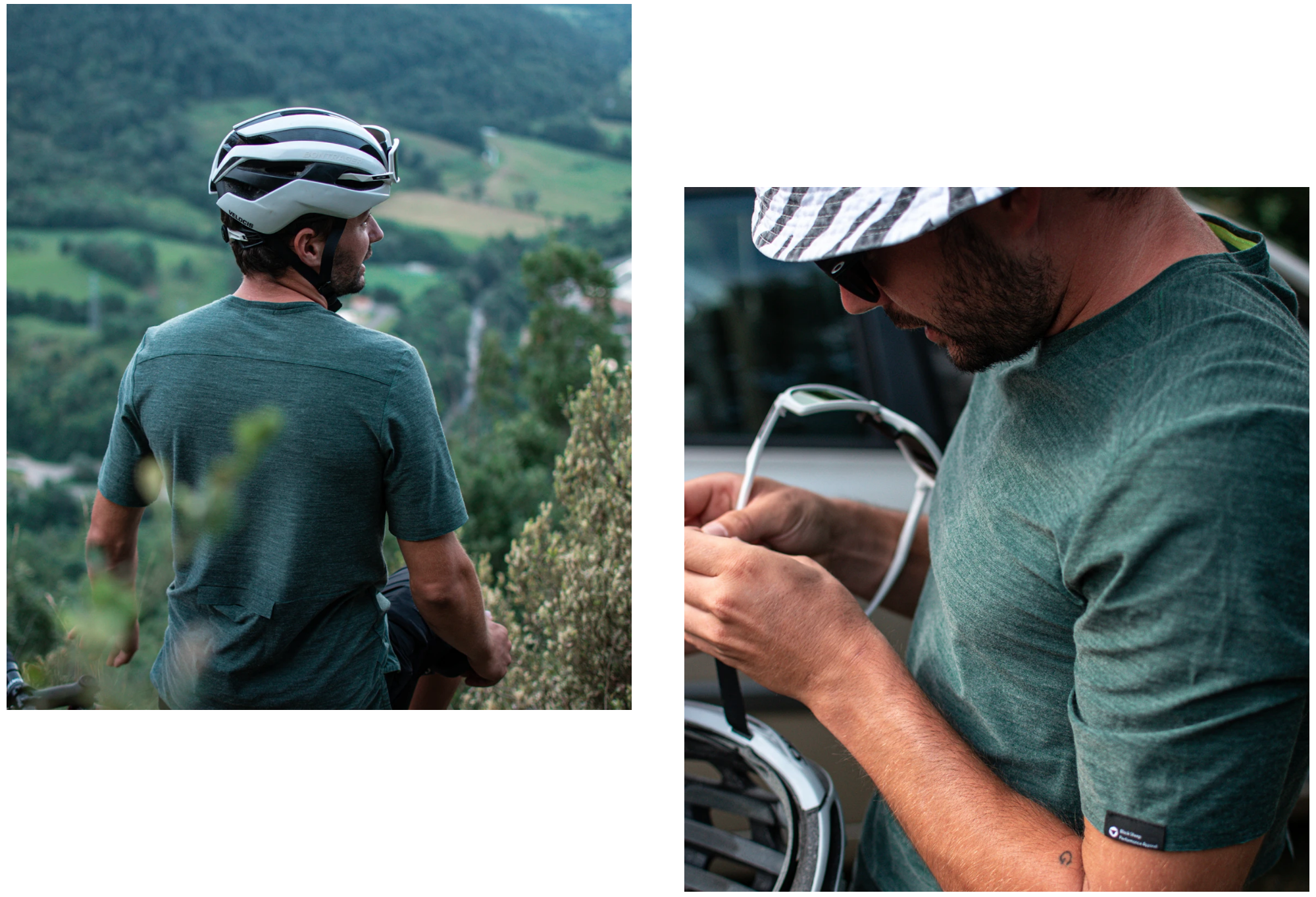 Black Sheep Cycling ADVENTURE Tシャツ - Dark Green  |  CYCLISM