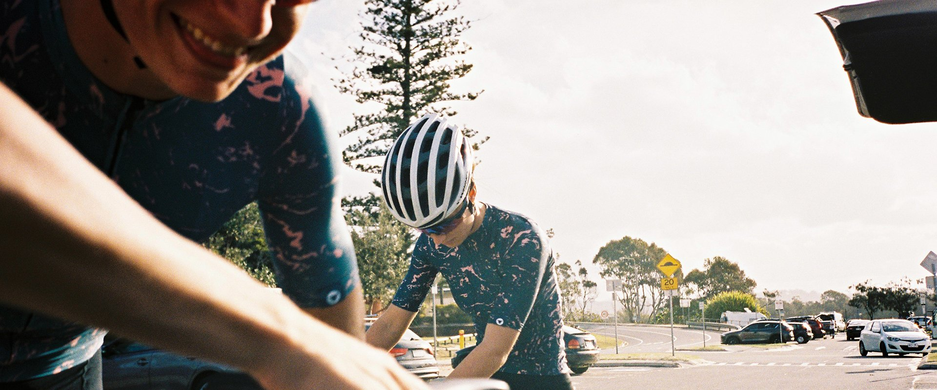 Black Sheep Cycling Essentials Team サイクルジャージ - Slate Marble   CYCLISM
