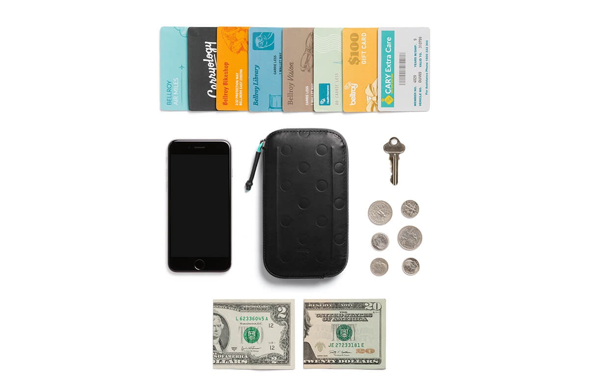 MAAP x Bellroy All-Conditions Phone Pocket Navy | CYCLISM