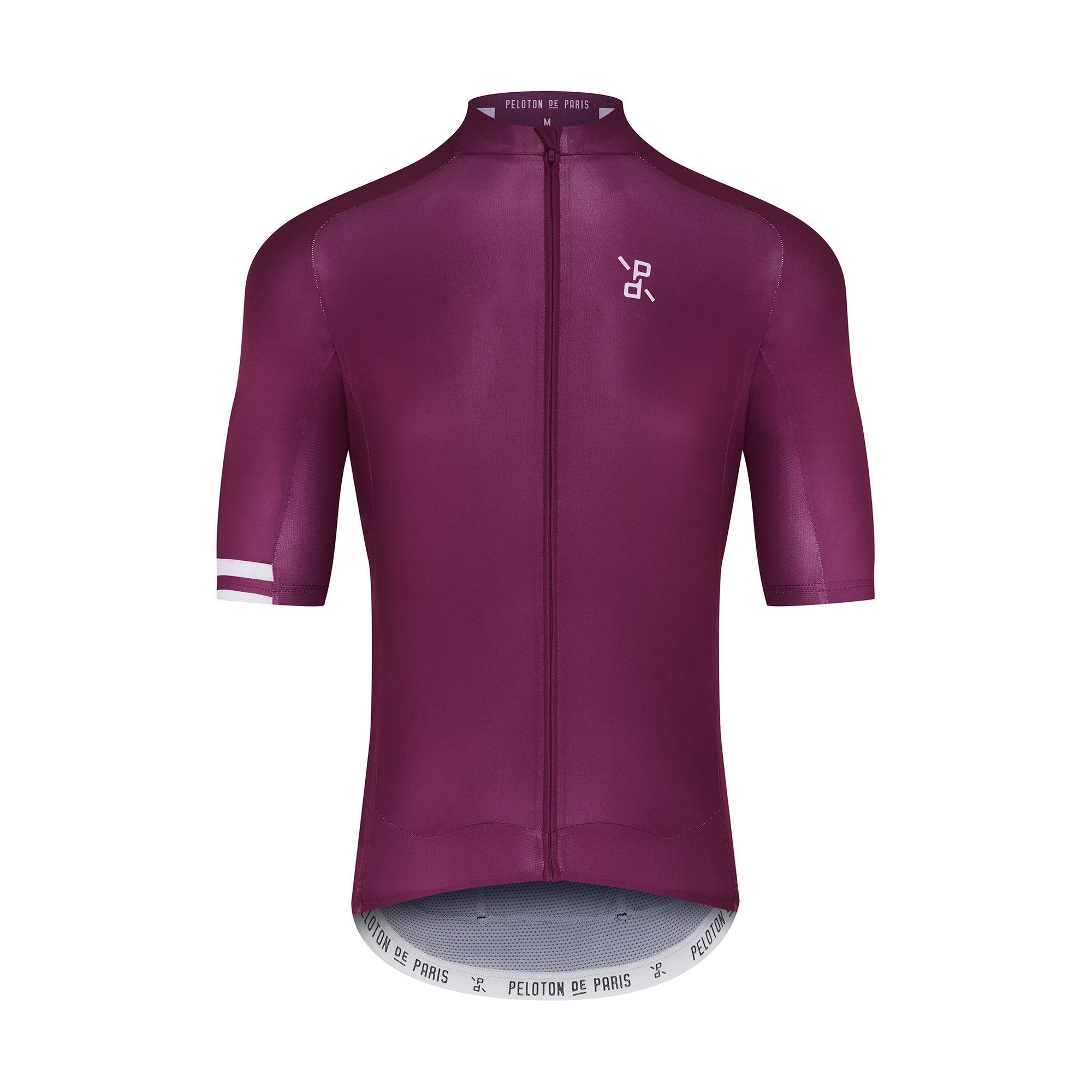 Peloton de Paris Deep Purple Recon サイクルジャージ | CYCLISM
