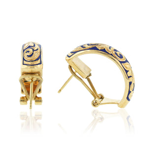 Ali'i 1/2 Hoop Earrings - Philip Rickard