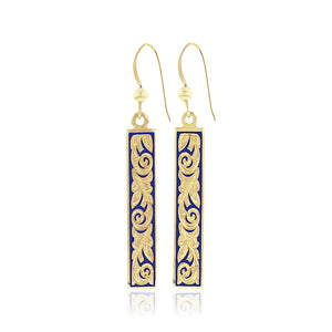 Ali'i Dangle Earrings - Philip Rickard