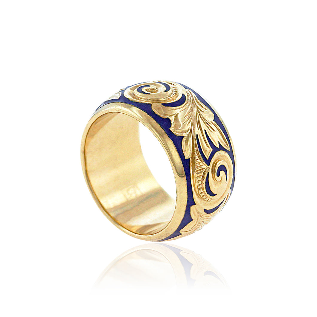 Ali'i 10mm Ring - Philip Rickard