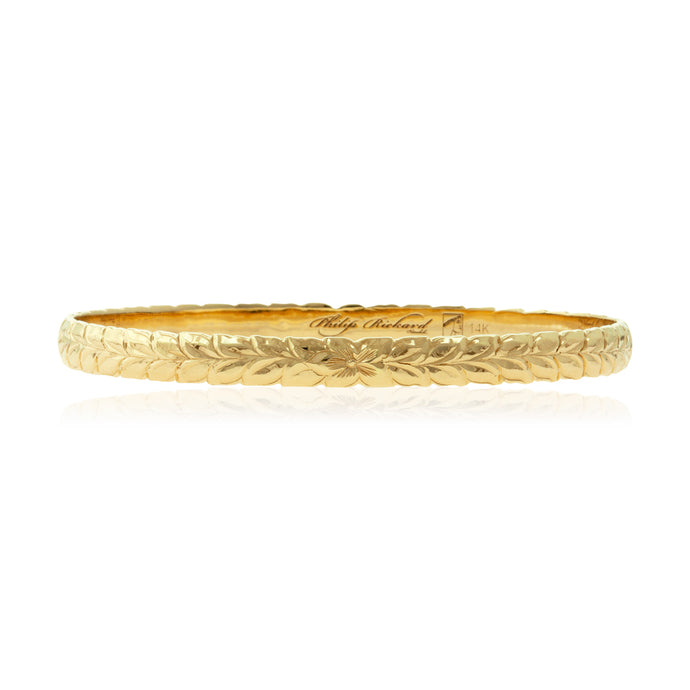 Shiny Maile 8mm Bangle - Philip Rickard