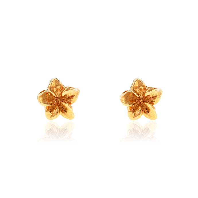 Baby Plumeria Earrings - Philip Rickard