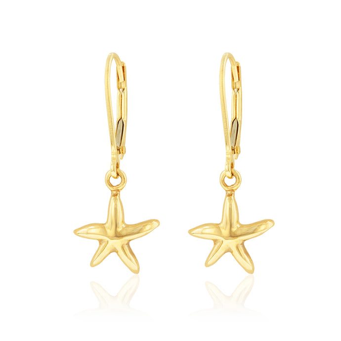 Starfish Dangle Earrings - Philip Rickard