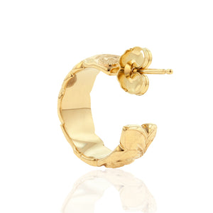 Small Hoop Earrings - Philip Rickard
