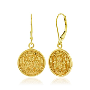 Coat Of Arms Dangle Earrings - Philip Rickard